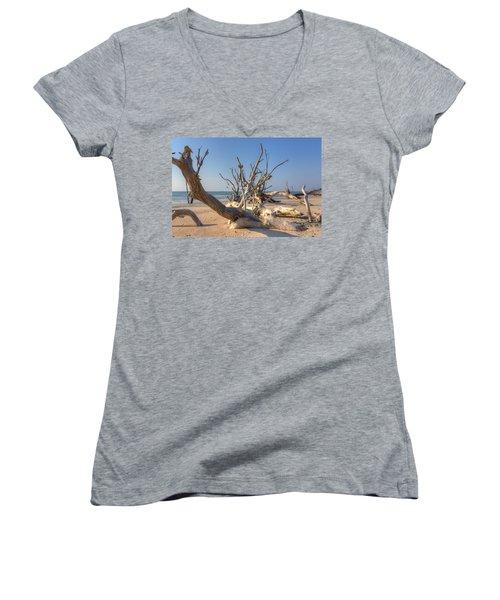 Boneyard Beach Women's V-Neck