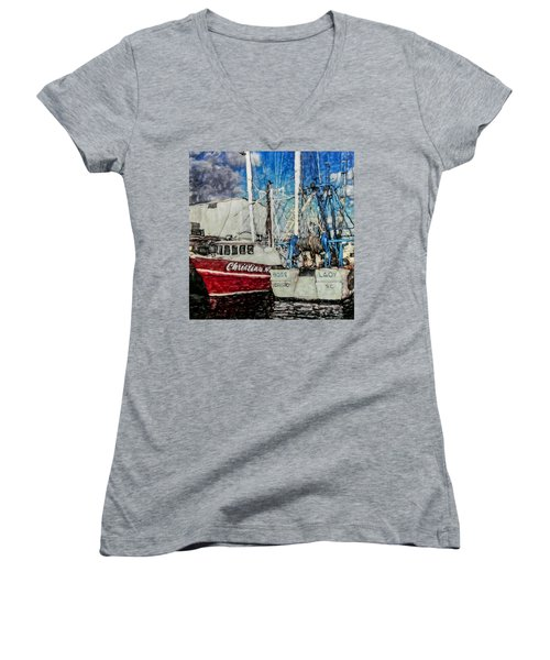 Boss Lady Women's V-Neck T-Shirt