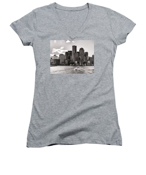 Boston Women's V-Neck