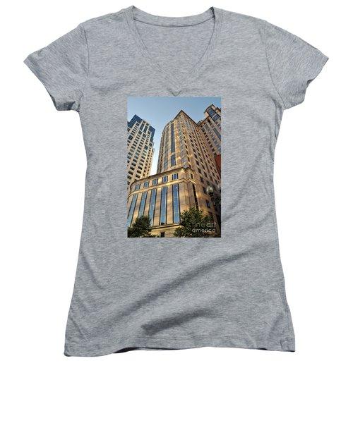 Boston Skyscrapers Women's V-Neck