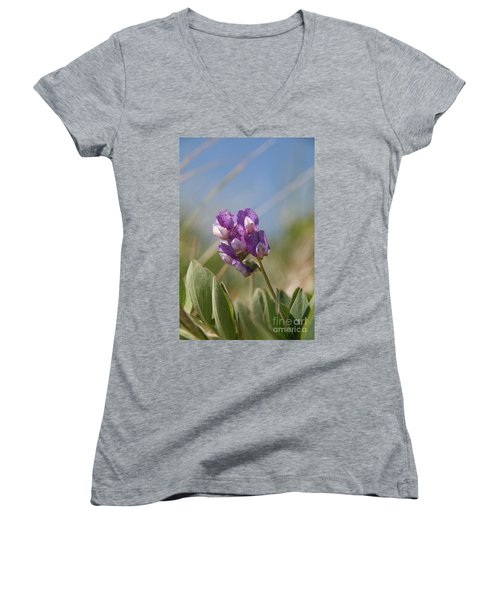 Breathe In The Air No.2 Women's V-Neck T-Shirt