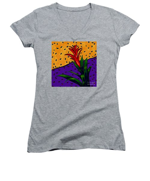 Bromeliad Women's V-Neck