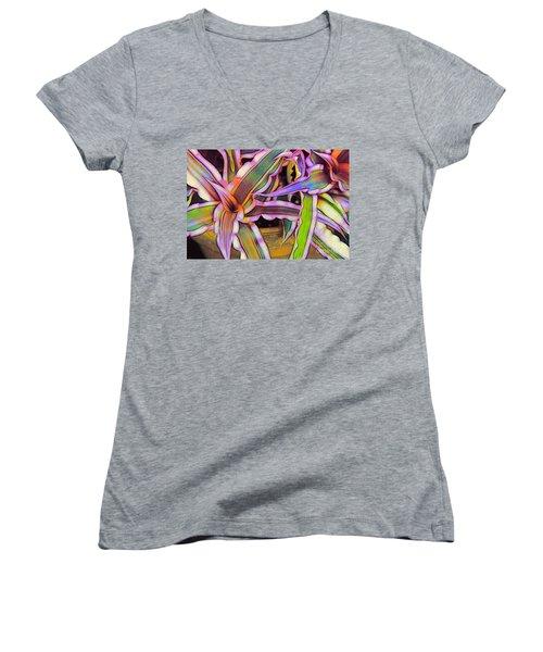 Bromeliads Women's V-Neck T-Shirt