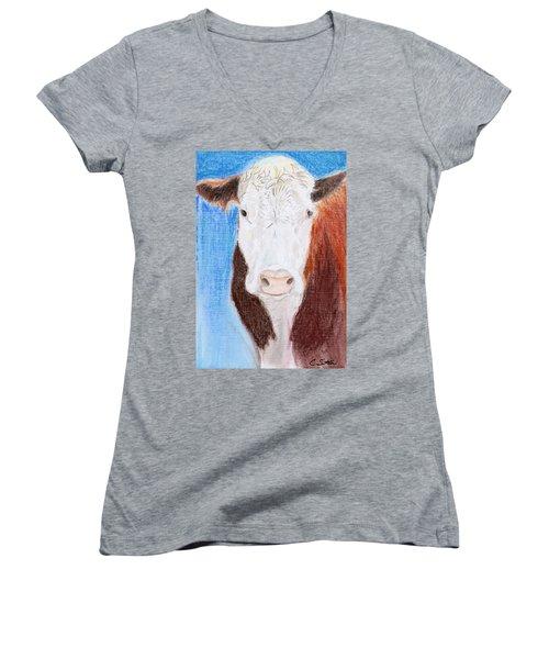 Brown-eyed Girl Women's V-Neck T-Shirt