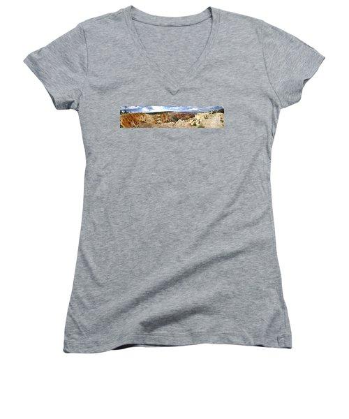 Bryce Panoramic Women's V-Neck T-Shirt
