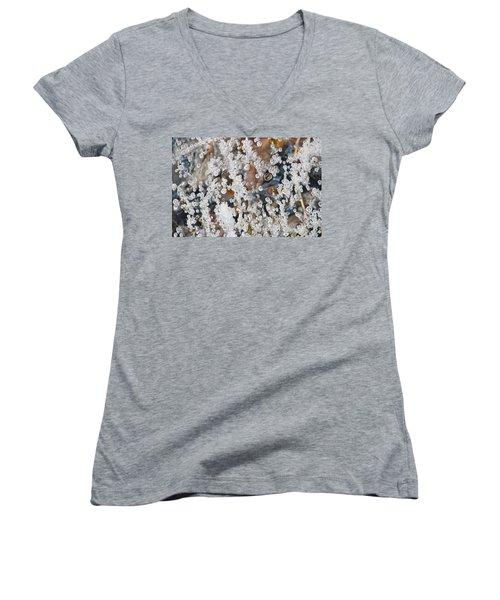 Bubble Up  Women's V-Neck T-Shirt