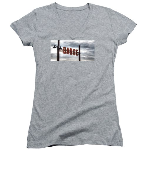by The Barge Women's V-Neck