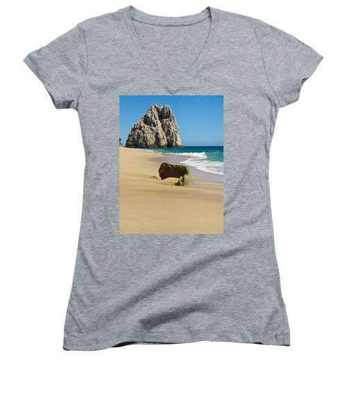 Cabo San Lucas Beach 2 Women's V-Neck