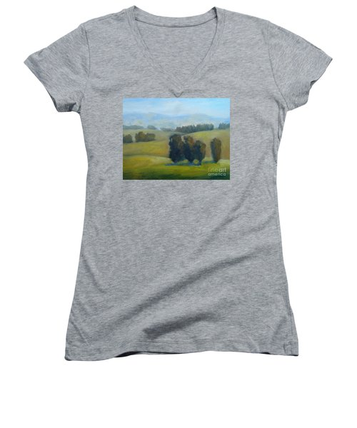 California Hills Late February Women's V-Neck