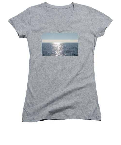 Calm Waters Women's V-Neck T-Shirt