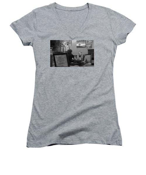 Fully Engaged Women's V-Neck T-Shirt
