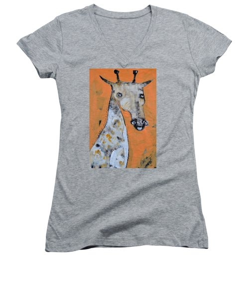 Camelopardus Women's V-Neck T-Shirt
