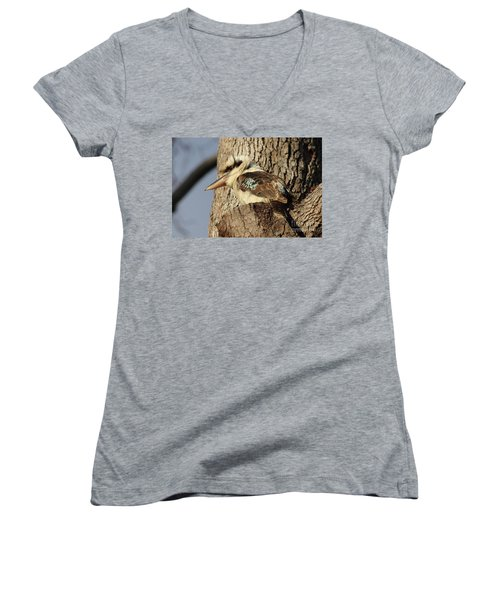 Can Anybody See Me? Women's V-Neck T-Shirt