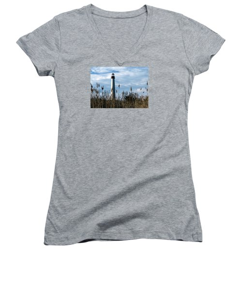 Cape May Light Women's V-Neck T-Shirt