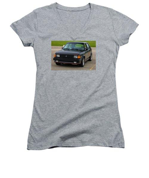 Car Show 002 Women's V-Neck