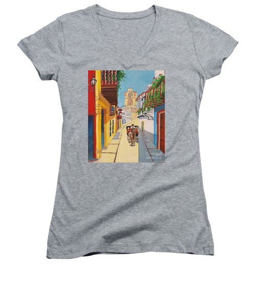 Cartagena's Calash Women's V-Neck