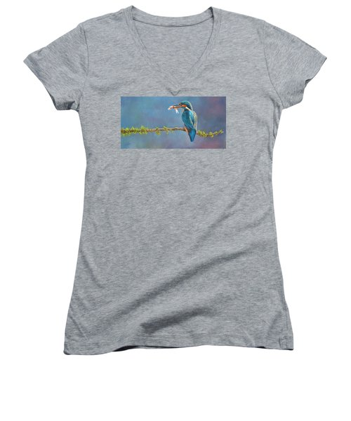 Catch Of The Day Women's V-Neck (Athletic Fit)