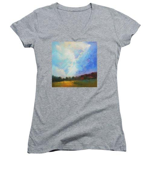 Catch The Light Women's V-Neck T-Shirt