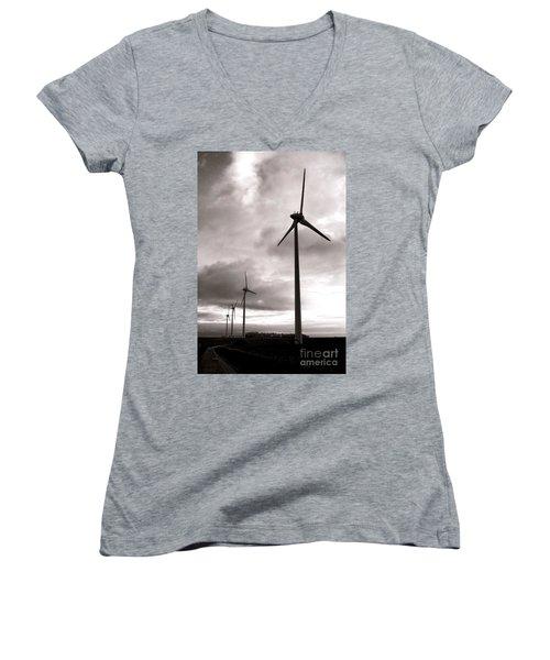 Catch The Wind Women's V-Neck