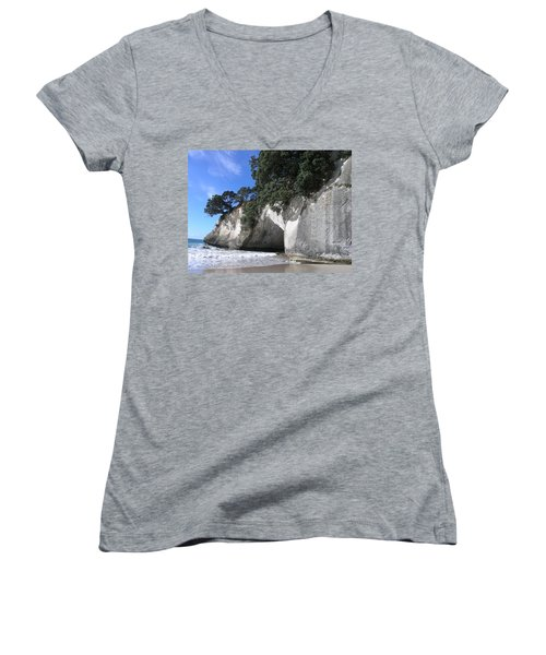 Cathedral Cove Women's V-Neck