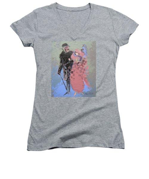 Catwalk Women's V-Neck T-Shirt