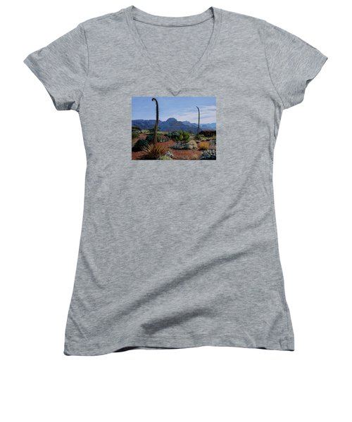 Century Sentinels Women's V-Neck T-Shirt