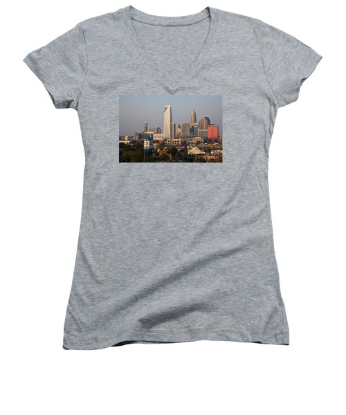 Charlotte In The Late Afternoon Women's V-Neck