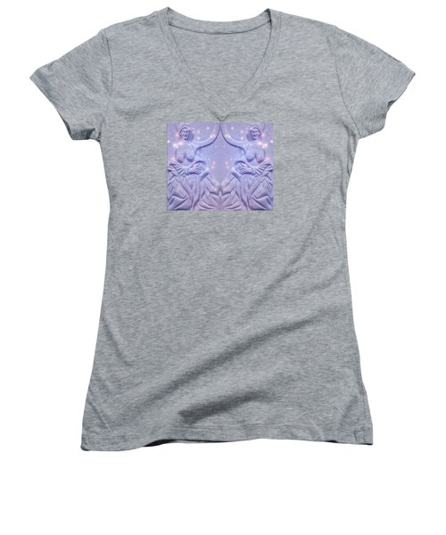 Two Charming Women Women's V-Neck T-Shirt