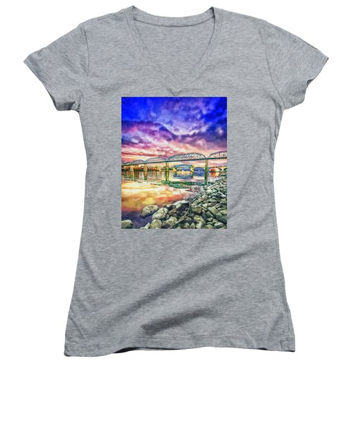 Chattanooga Reflection 1 Women's V-Neck