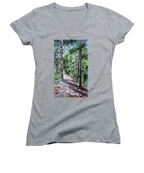 Cheraw Trail Women's V-Neck T-Shirt