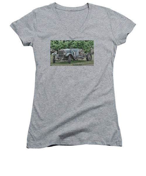 Chevy Truck By Ron Roberts Women's V-Neck