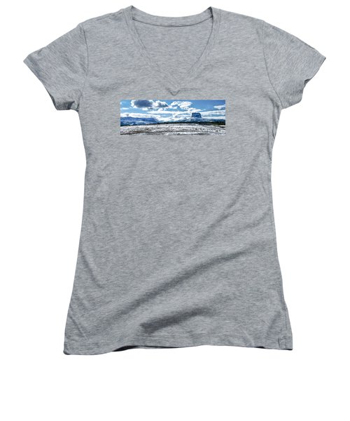 Chief Of The Mountains Women's V-Neck (Athletic Fit)