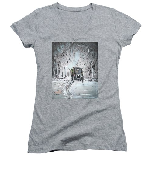 Christmas Tree Women's V-Neck T-Shirt