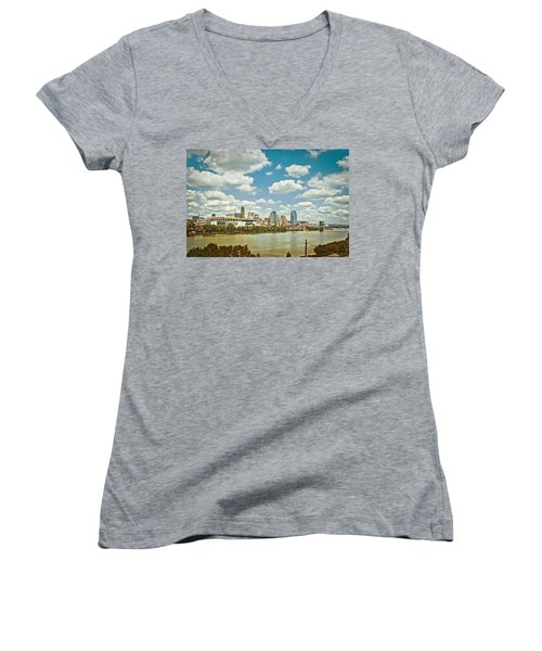 Cincinnati 4 Women's V-Neck T-Shirt