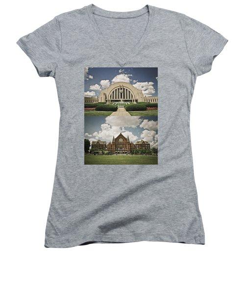 Cincinnati Icons Women's V-Neck T-Shirt