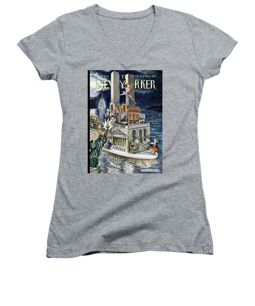 City Of Dreams Women's V-Neck
