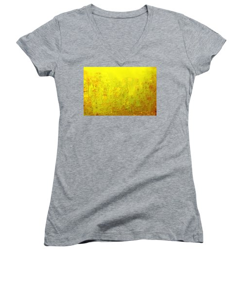 City Of Joy 2013 Women's V-Neck T-Shirt