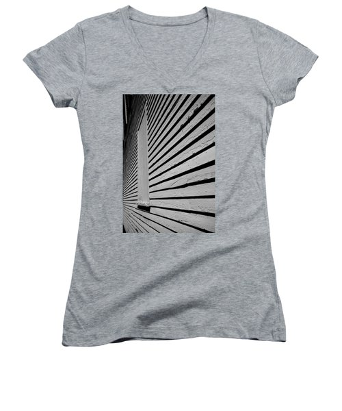 Clapboards Women's V-Neck T-Shirt