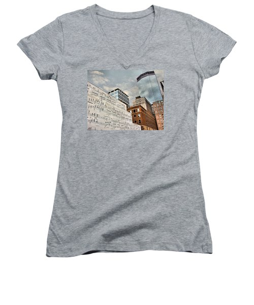 Classical Graffiti Women's V-Neck T-Shirt