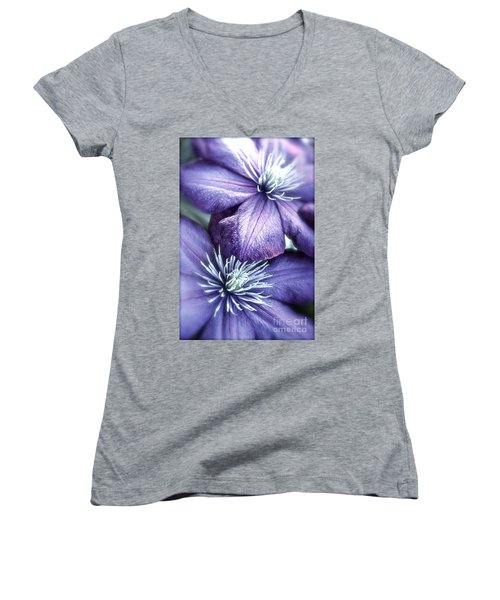 Clematis Women's V-Neck (Athletic Fit)