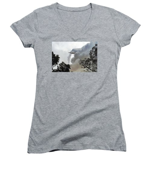 Cloud Cover Women's V-Neck (Athletic Fit)