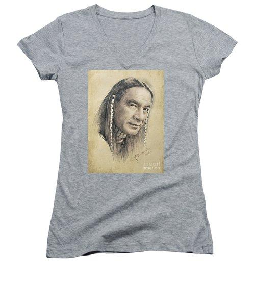 Cloud Dancing Women's V-Neck T-Shirt