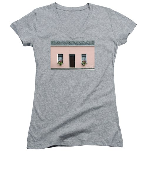 Co. Kerry Passing By Women's V-Neck (Athletic Fit)