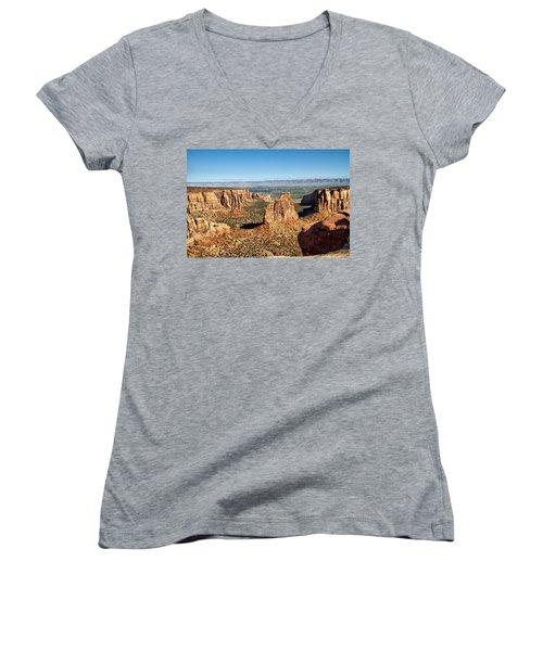 Colorado National Monument Women's V-Neck