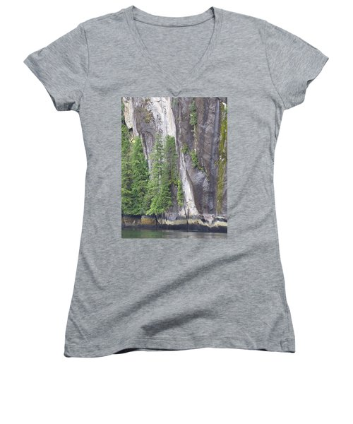 Colors Of Alaska - More From Misty Fjords Women's V-Neck (Athletic Fit)