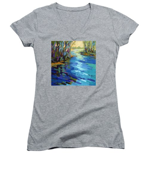 Colors Of Summer 9 Women's V-Neck (Athletic Fit)