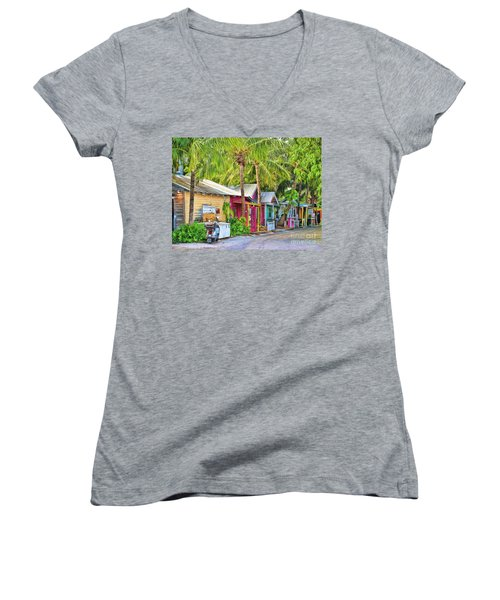 Lazy Way Lane Women's V-Neck T-Shirt