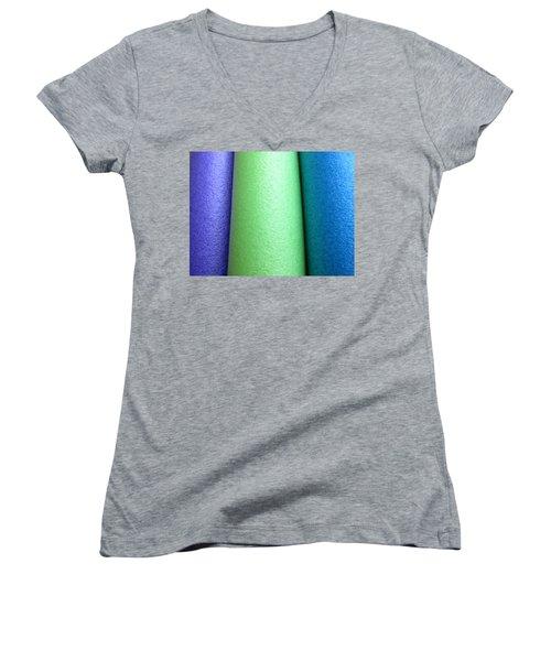 Colorscape Tubes A Women's V-Neck