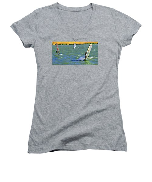 Coming And Going Women's V-Neck