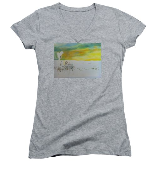Composition Women's V-Neck T-Shirt